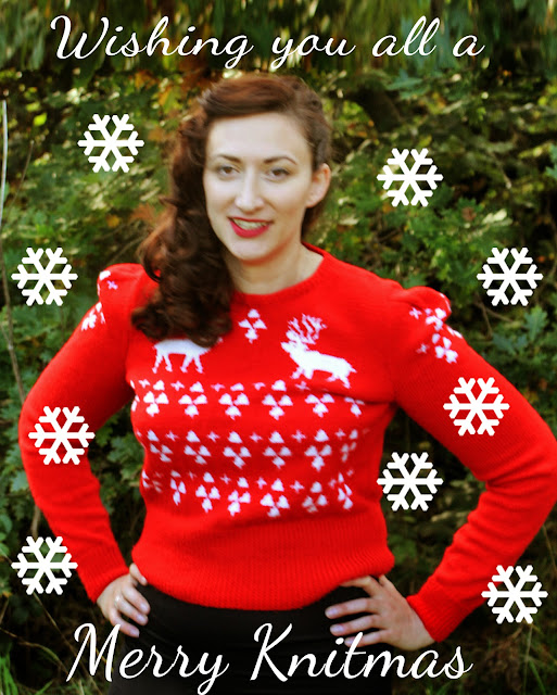 The Butterfly Balcony - The Perfect Christmas Jumper 1940's