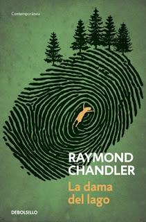 portada la dama del lago Raymond Chandler
