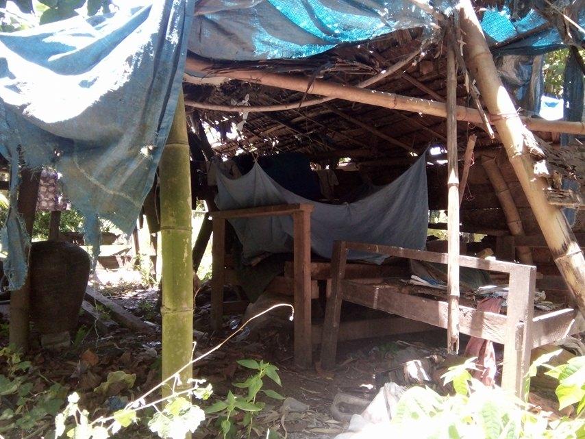 Rumah Ayah Tiga Anak ini Bagaikan Kadang yang Luput Dari Peratian
