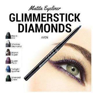 Glimmerstick Diamonds Matita Eyeliner di Avon. Scoprila nel Catalogo Avon della Campagna in corso. Opinioni, Recensioni, Tutorial e Review Presentatrice Avon. Scopri come ordinare i prodotti Avon.