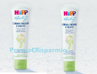 Logo #HIPPchefreddo: vinci gratis Crema Freddo e Vento HiPP Baby 30ml