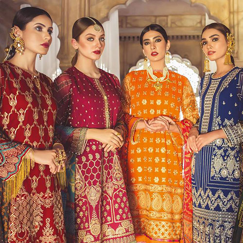 Khaadi Festive Chiffon Collection 2019