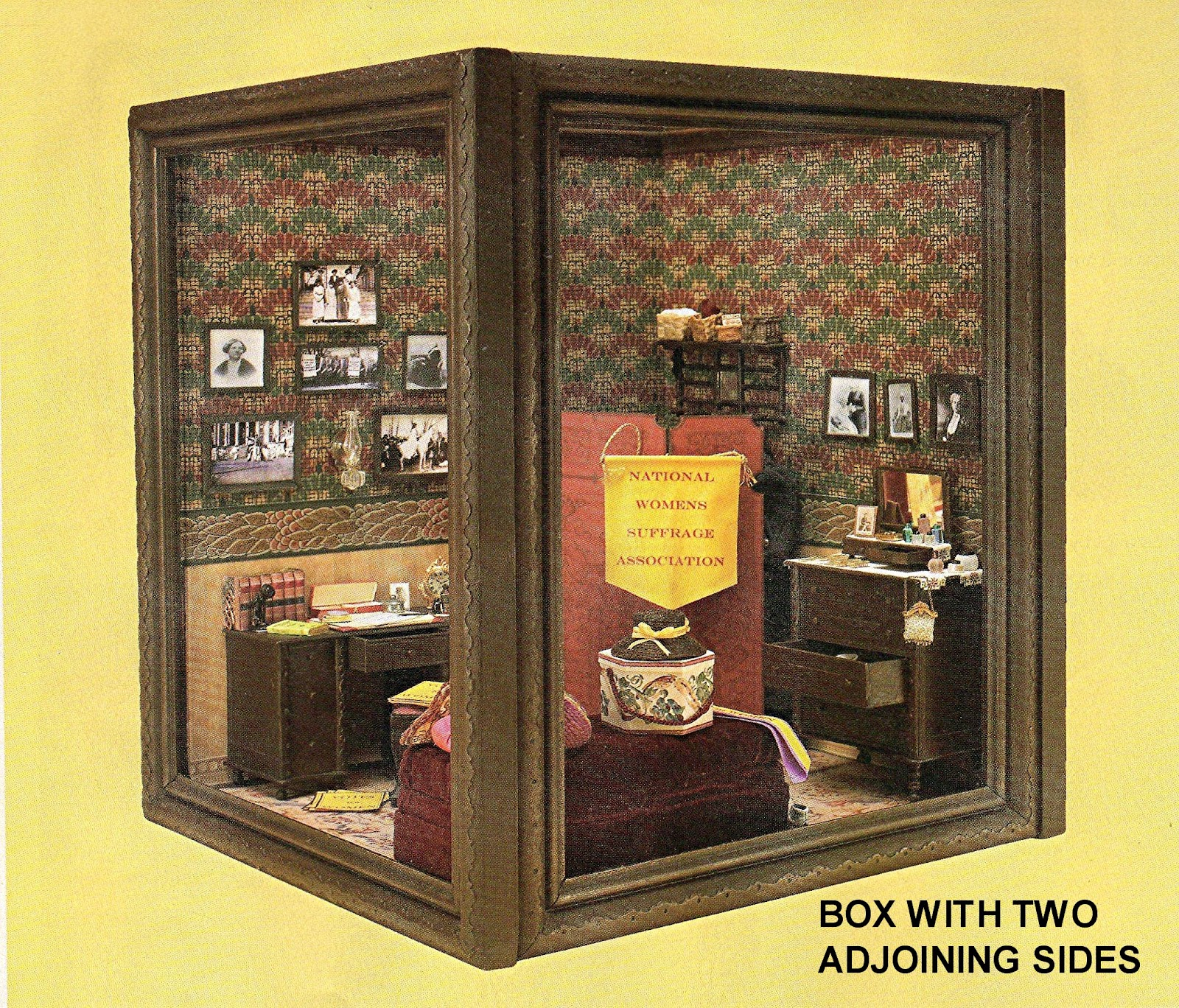 Mini Kitchen Room Box: DYI DOLLHOUSE MINIATURES: MAKING ROOMS & DISPLAY BOXES
