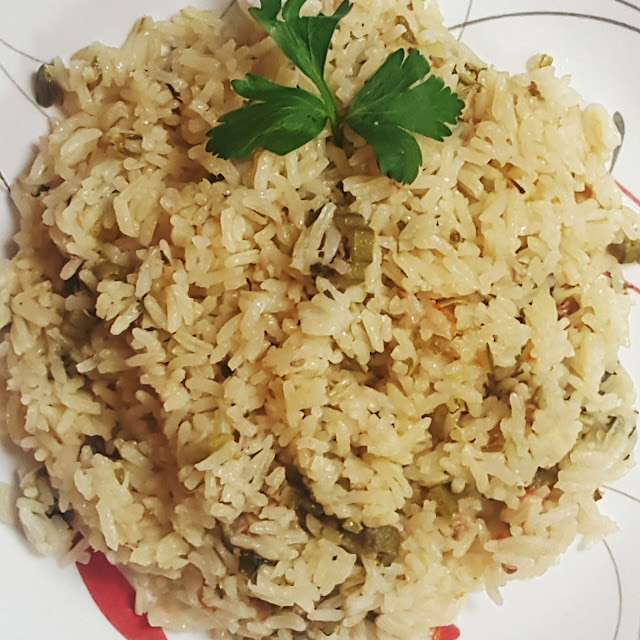 Okra Cookup Rice