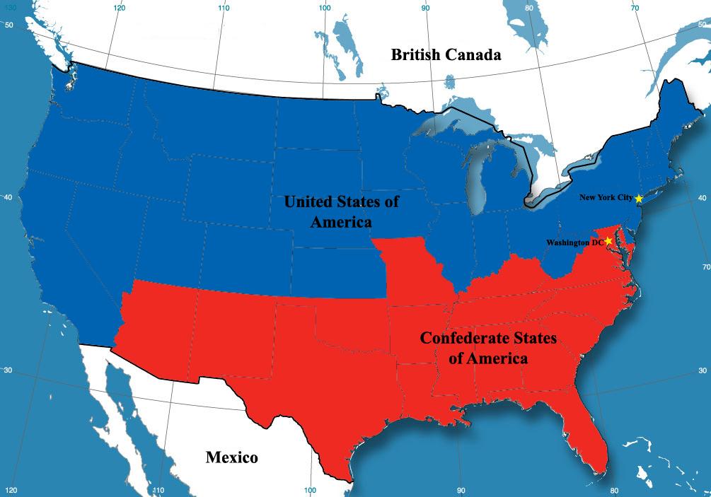 戦争 原因 南北
