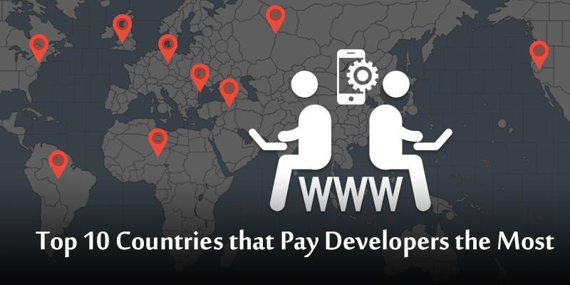 Countries that Pay Developers the Most