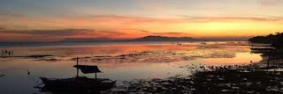 Laya Sunset and sunrise Pebbles Beach Baclayon Bohol Philippines 2018
