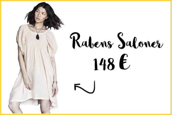Vestido de novia Rabens Saloner