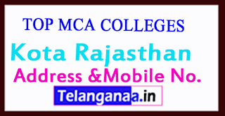 Top MCA Colleges in Kota Rajasthan