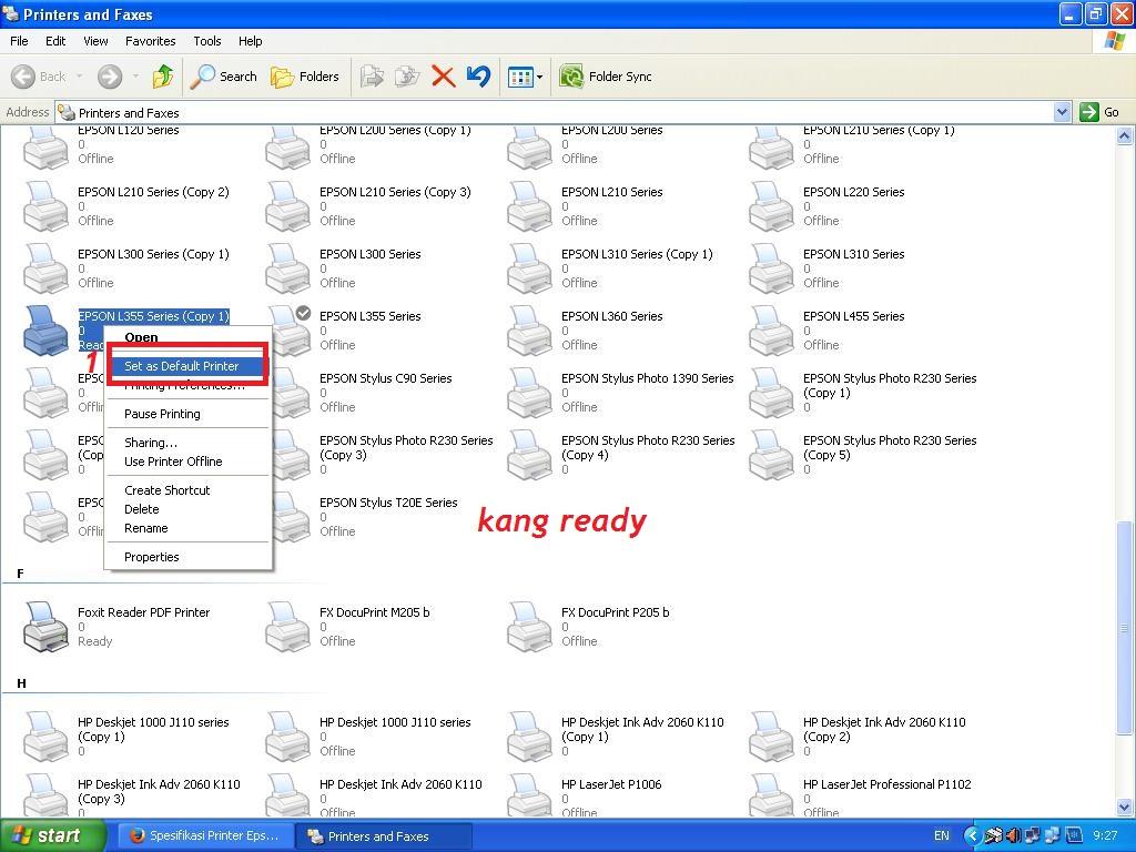 Epson l210 resetter adjustment program free download
