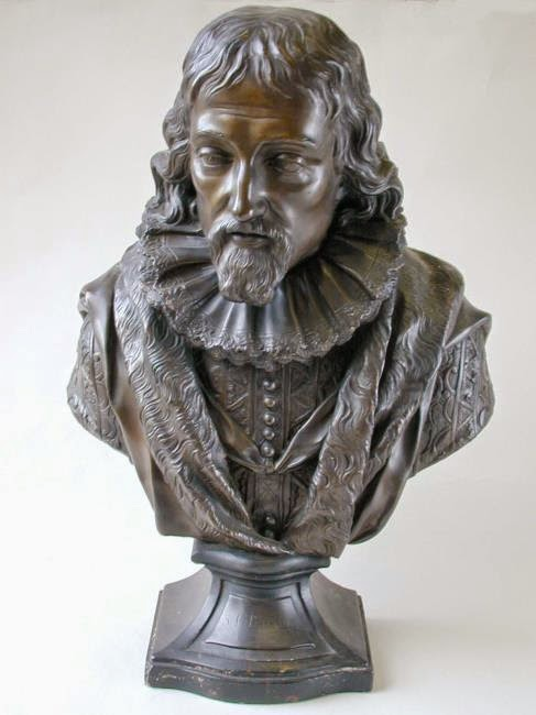 Image result for Francis Bacon Bust Kirkleatham