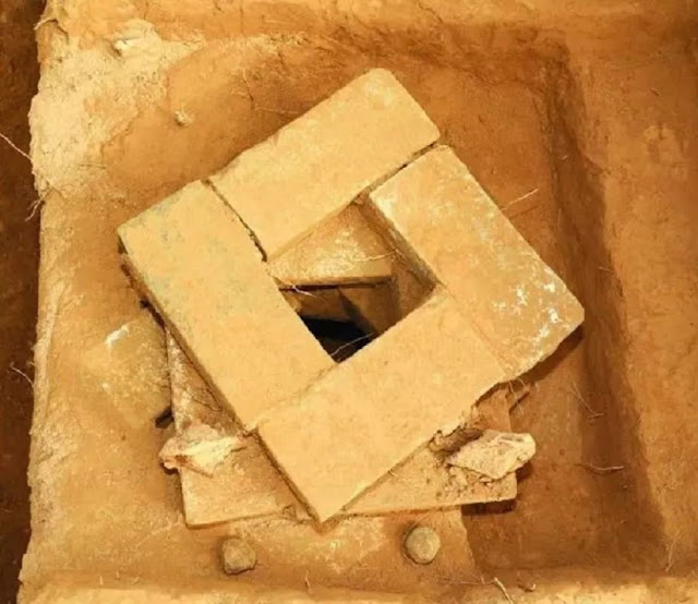 Rare underground ancestral hall in tombs found in northern China's Shanxi Province