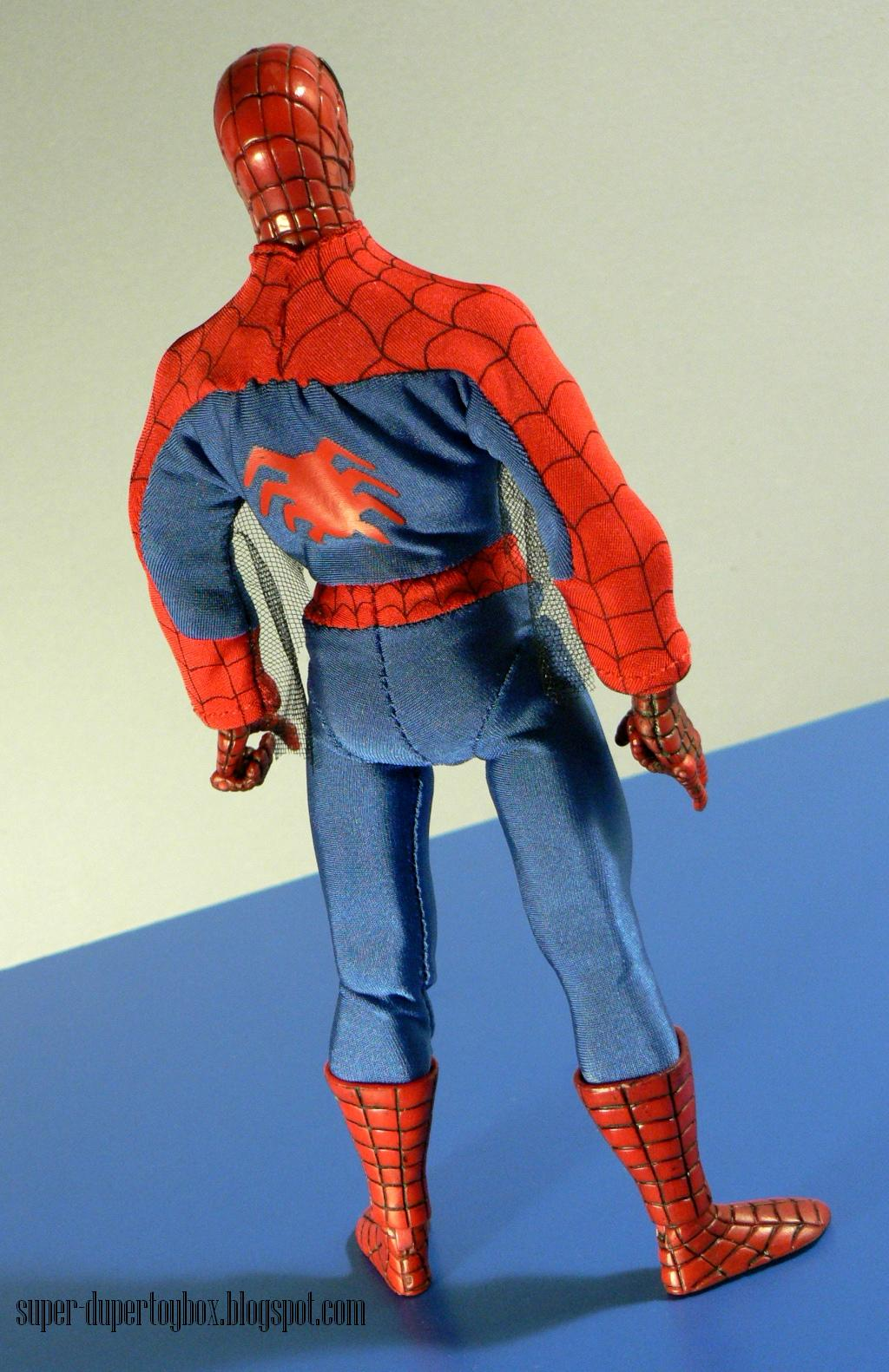 Super Dupertoybox 9 Origins Spiderman By Hasbro My Age Group Who Had The Old Mego From 70s Spidey Was Definitely A Favorite Of Megos And This Guy Certainly Captures Spirit