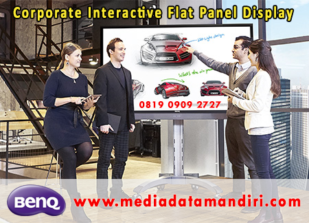 Corporate Interactive Flat Panel Display