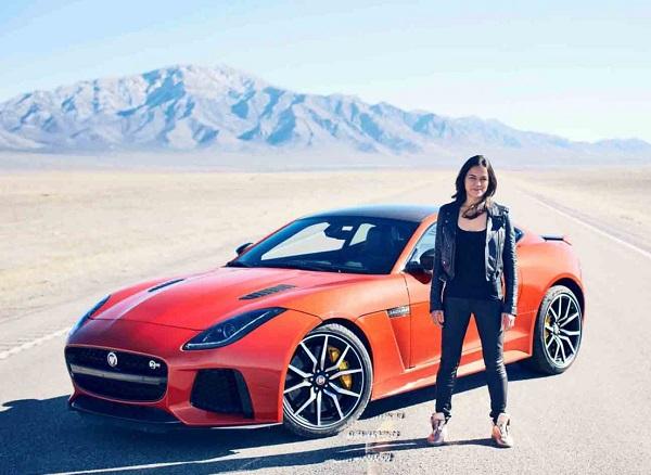 Jaguar F-Type SVR Michelle Rodríguez