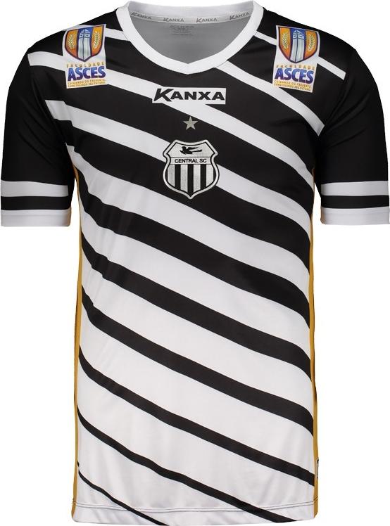 1eec33766a Kanxa lança a quarta camisa do Central de Caruaru. A fabricante de material  esportivo ...