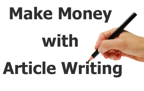 how to make money writing from home