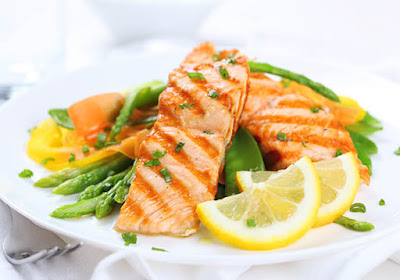 Fish are rich in omega-3 fatty acids and good for eyesight