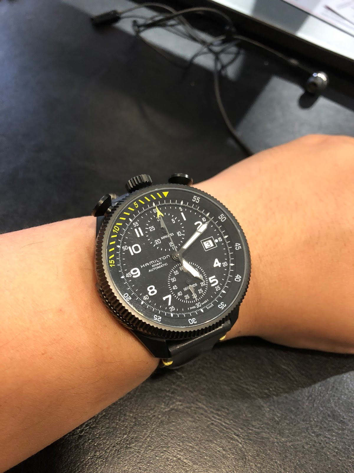 31b00aae55a My Western Watch Collection  Hamilton Khaki Aviation Takeoff ...