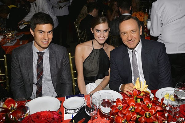 Ricky Van Veen, Allison Williams and Kevin Spacey