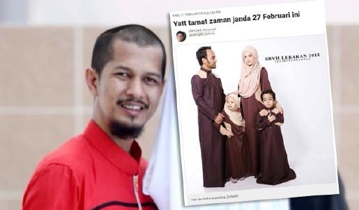 Pendedahan mengejutkan bekas suami tentang Yatt Hamzah
