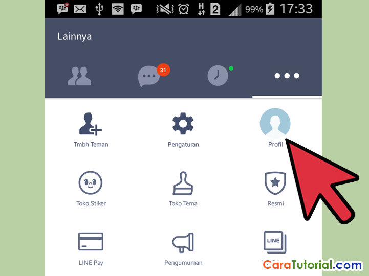 Setup User ID LINE Messenger