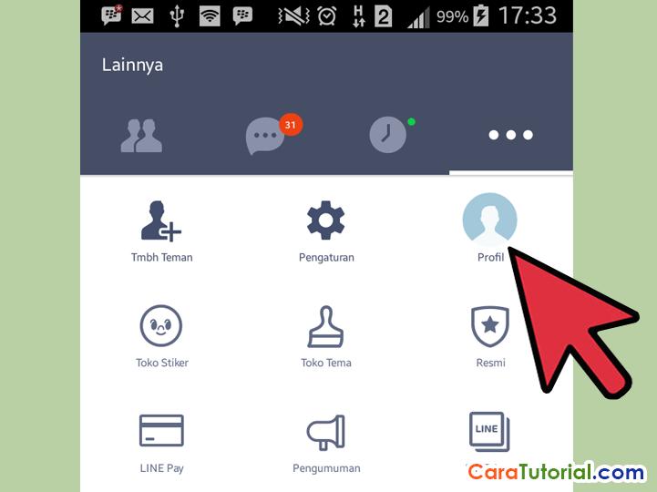Setup User ID LINE Messenger