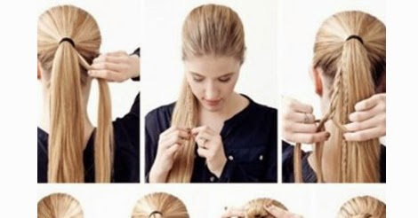 Brilliant Beautiful Bun Of Multi Braids Hairstyle Step By Step Just Cool Tips Short Hairstyles For Black Women Fulllsitofus