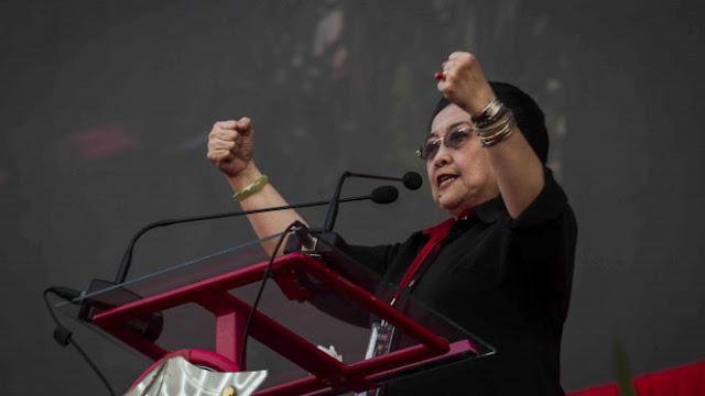 Kata Megawati: Jangan Pilih Pemimpin yang Menabok Rakyatnya