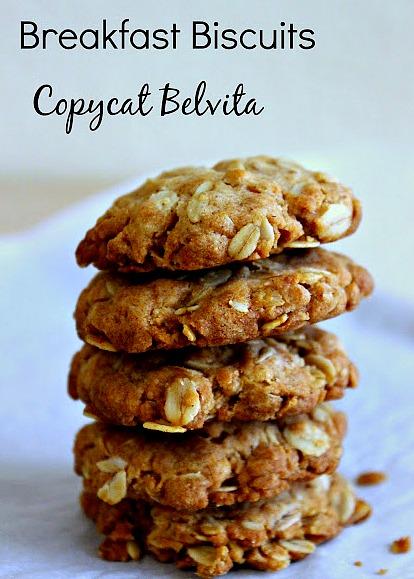 Breakfast Cookies- Copycat Belvita