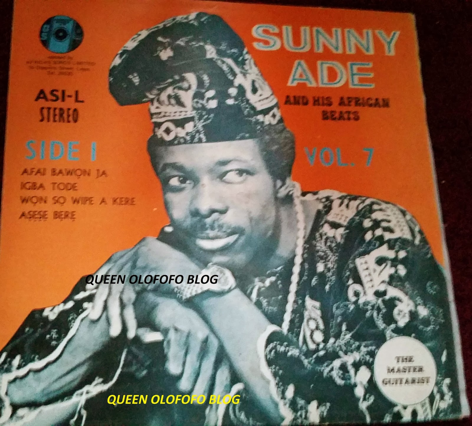 sunny ade and the african beats afai bawon ja