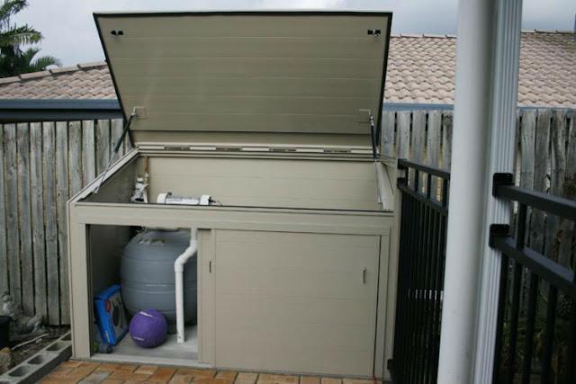 pool pump cover box
