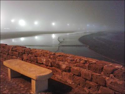 Brouillard à Essaouira