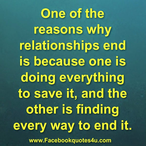 Ending Relationship Quotes: Facebook Quotes About Relationships Ending. QuotesGram
