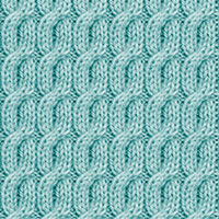 Twist Cable 24: 2/2/2 Right Purl Cross | Knitting Stitch Patterns.