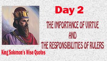 responsibilities of rulers