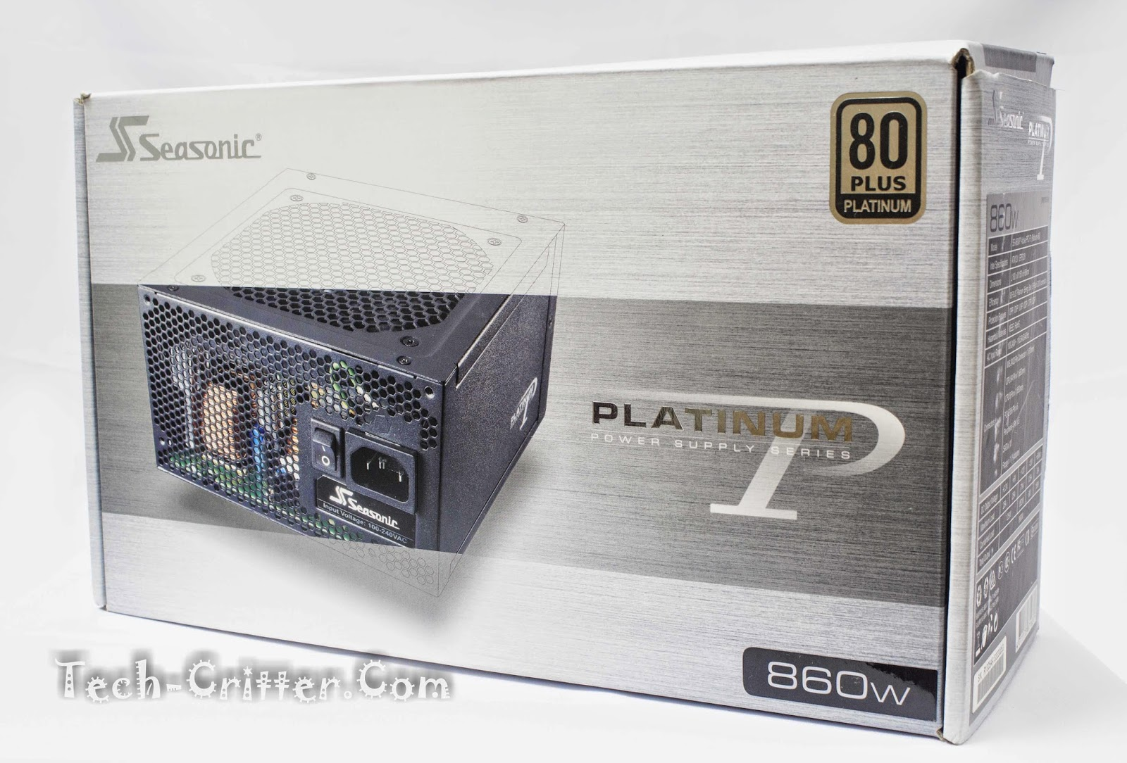 Unboxing & Overview: Seasonic Platinum Series 860W Power Supply Unit 48