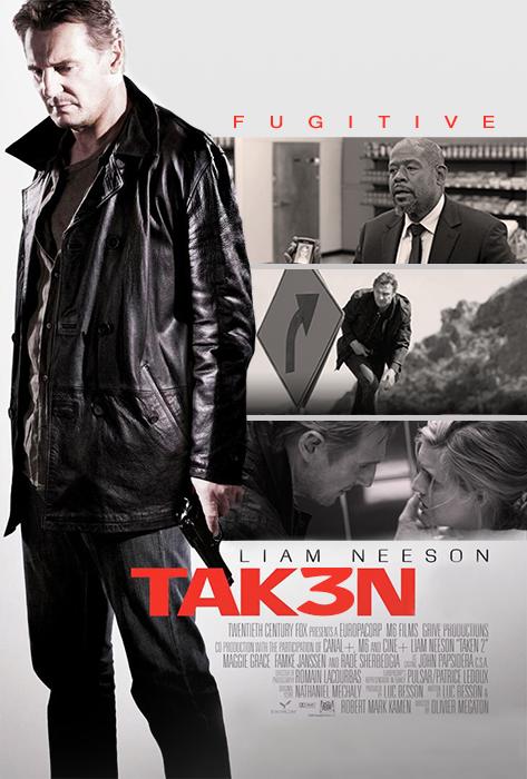 Poster Taken 3 - Tak3n