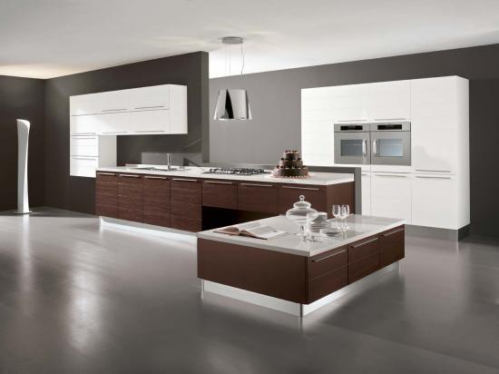 15 Fotos de Cocinas Integrales Modernas Color Chocolate  Ideas para decorar disear y mejorar tu casa