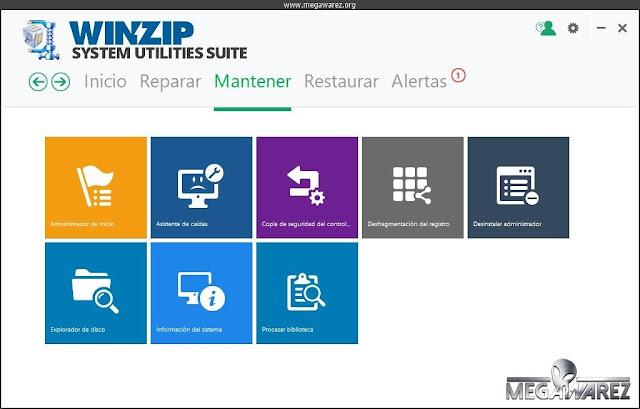 WinZip System Utilities Suite 2.16.1.2 imagenes