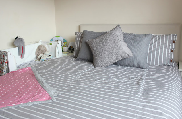 Dunelm Elements Grey Stripe Duvet Cover Set Review