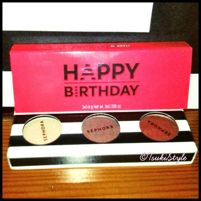 Regalo Cumpleaños Sephora 2015