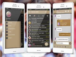 BBM Mod Aksara v3.2.5.12 Apk Terbaru 2017 Gratis Download