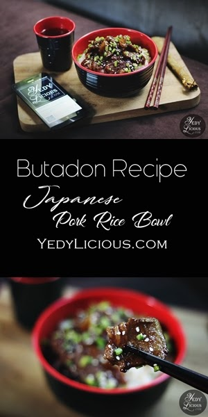 BUTADON RECIPE Butadon Japanese Pork Rice Bowl Recipe on Pinterest