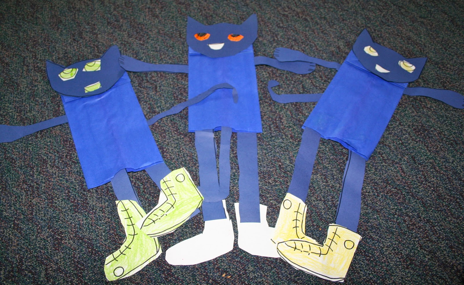 Pete The Cat I Love My White Shoes Traceable