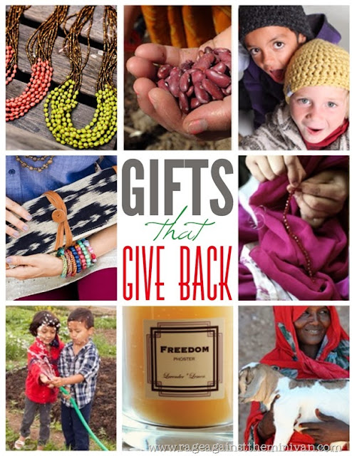 Christmas gifts that give back | Lindsay Eryn