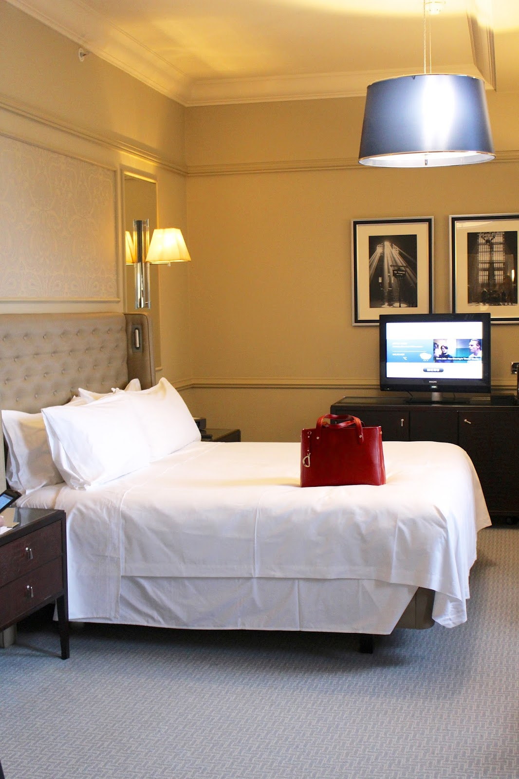 waldorf astoria edinburgh premium room 2016