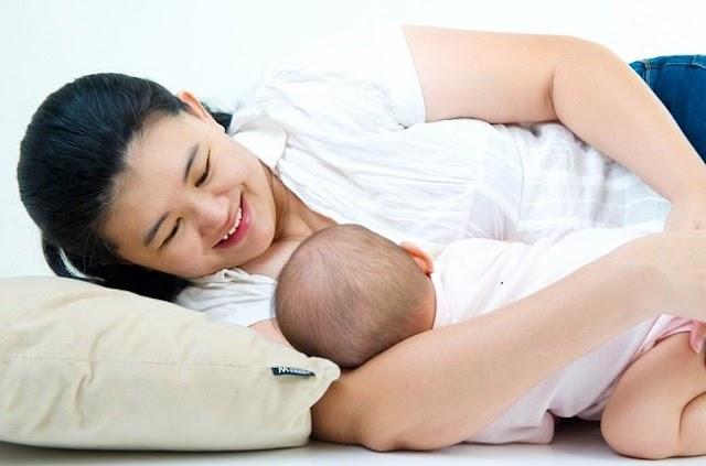 Posisi Memberikan ASI yang Tepat untuk Bayi tanpa Rewel
