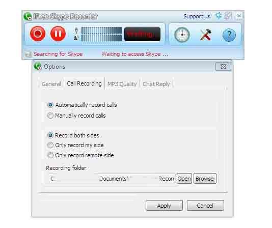 iFree-Skype-Recorder-Sc