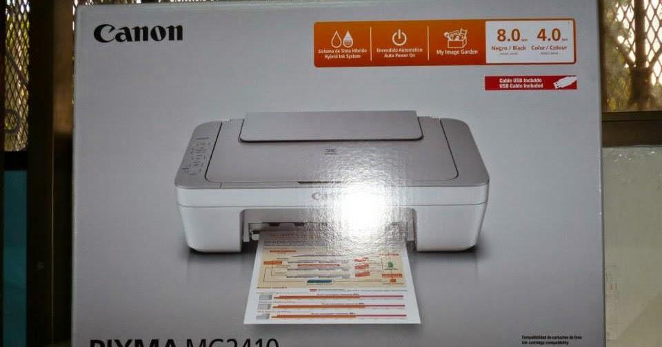 Diario El Ecuatoriano Resetear Canon Mg2410